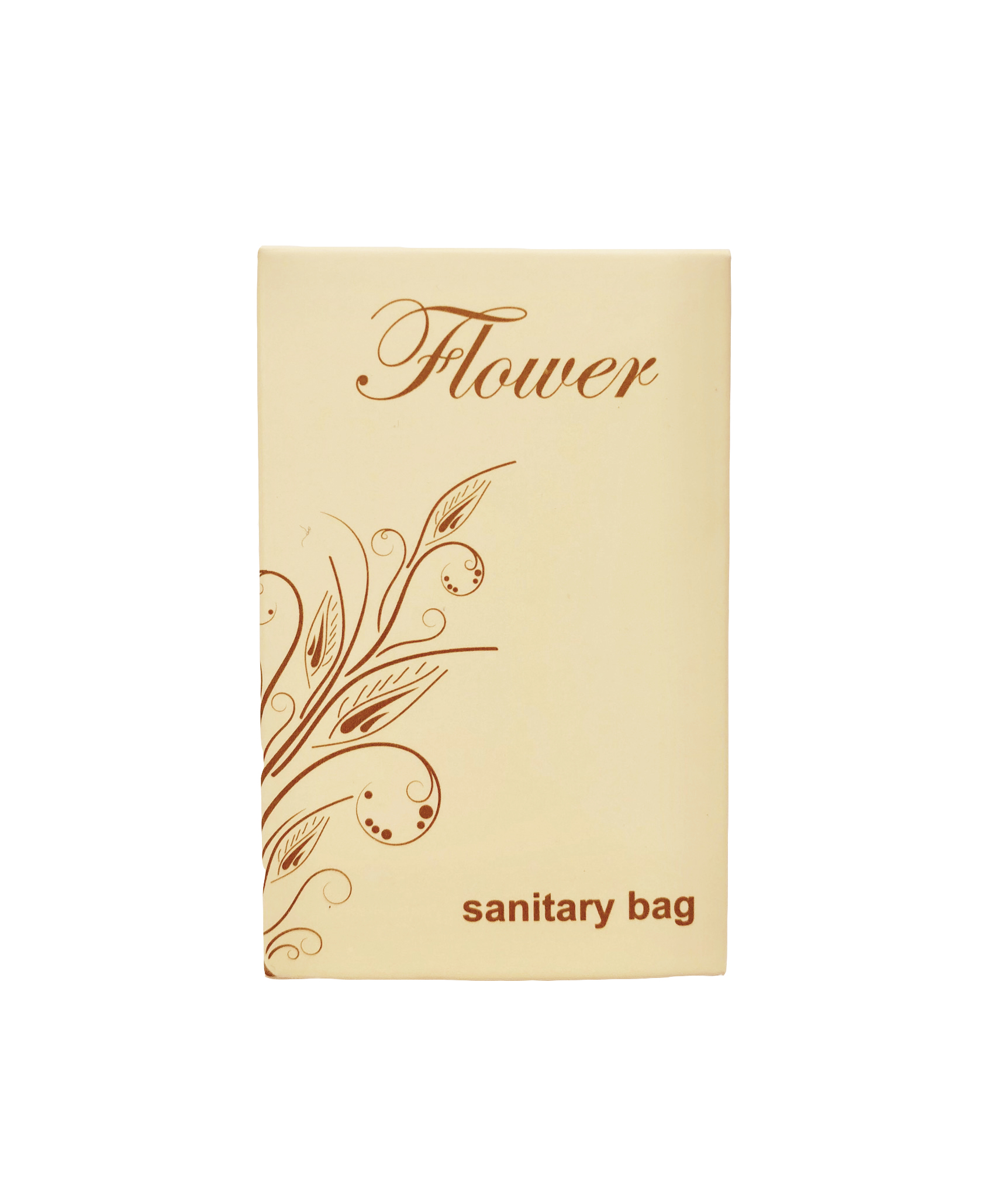 SANITARY BAG IN ASTUCCIO FLOWER